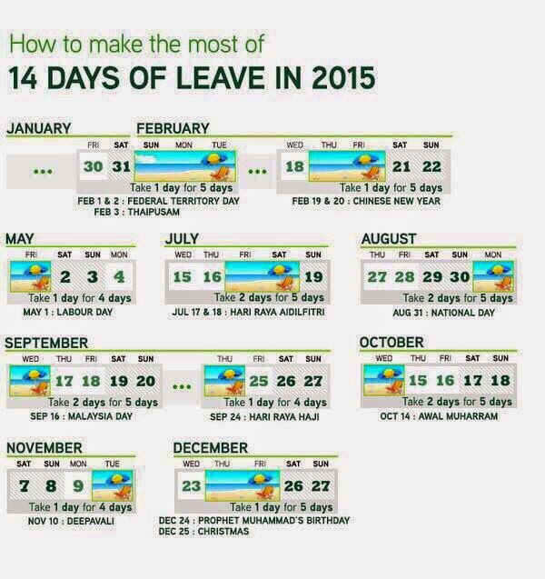 Cuti Umum 2015