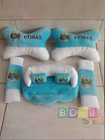 Bantal Mobil Manchester City