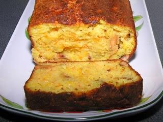 Cake aux carottes et aux amandes