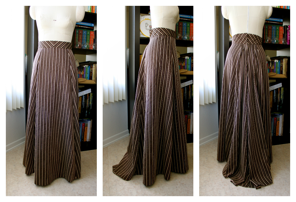 Curtains Ideas black and tan curtains : Steampunk Gathered Skirt It's curtains for me!