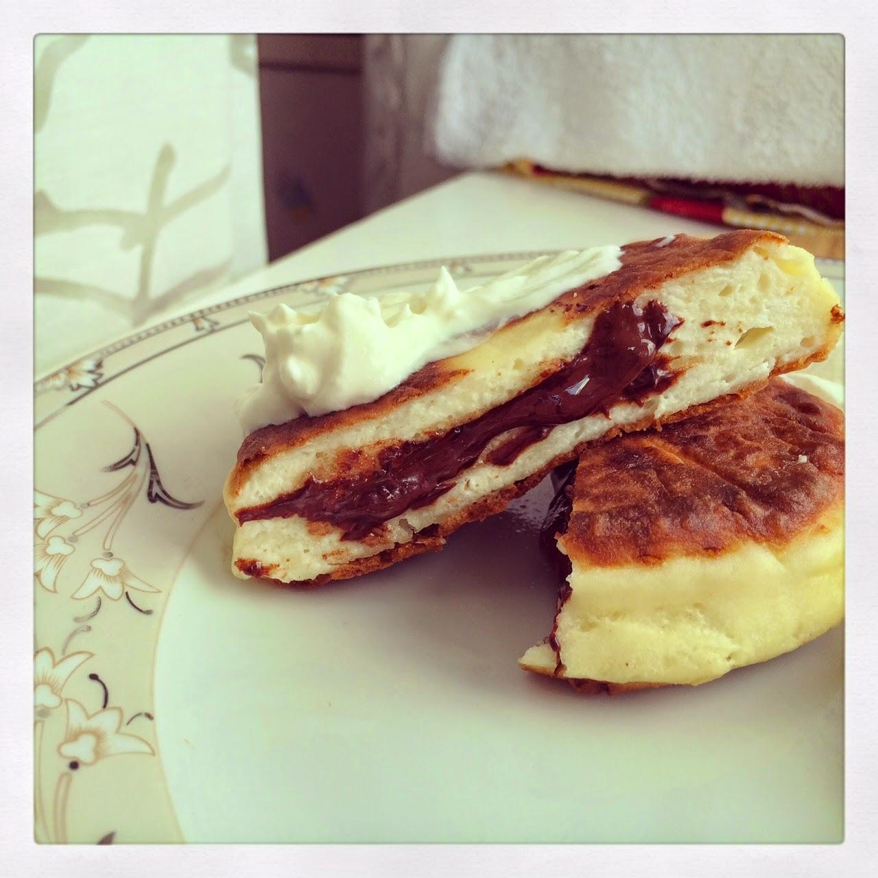 Сюрприз для Левы или Любимые сырники с шоколадом