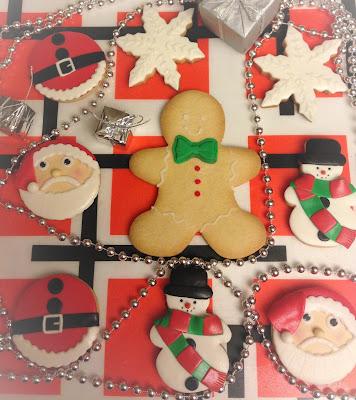 galletas; galletas decoradas; galletas fondant; galletas navidad; navidad; celebración; celebrar; reunion