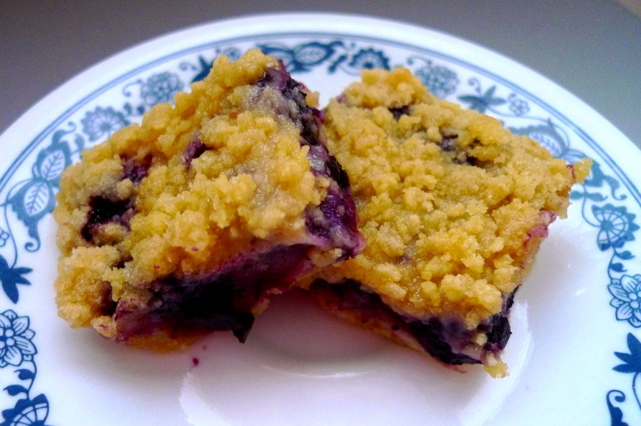 Most Popular Recipe of the Week: Blueberry Breakfast Bars from Sweet As Sugar Cookies #SecretRecipeClub #breakfast #bars #blueberry #recipe