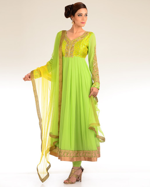 Latest fashion anarkali umbrella frock suit 2015 16 in for Anarkali indian cuisine