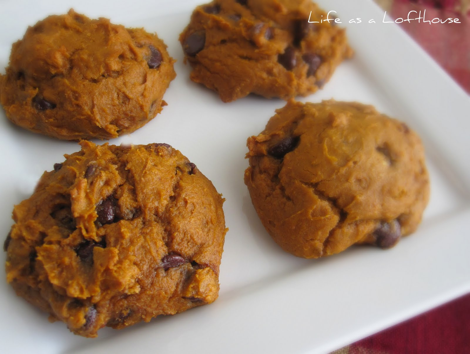 Pumpkin Chocolate Chip Cookies - Life In The Lofthouse