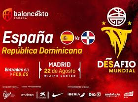 Desafío mundial: España-República Dominicana