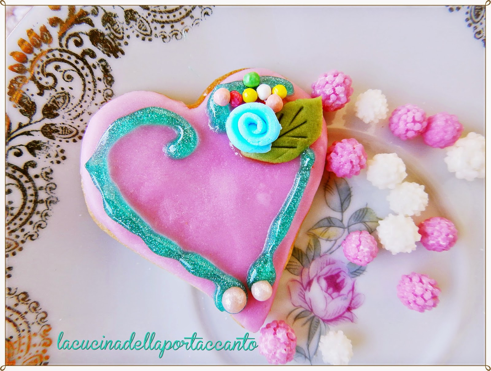 cuori di biscotto per san valentino / hearts of biscuit for valentine
