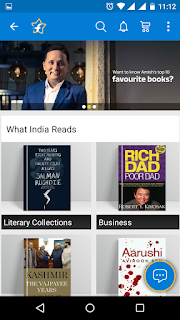 "Flipkart ""What India Read"" page"
