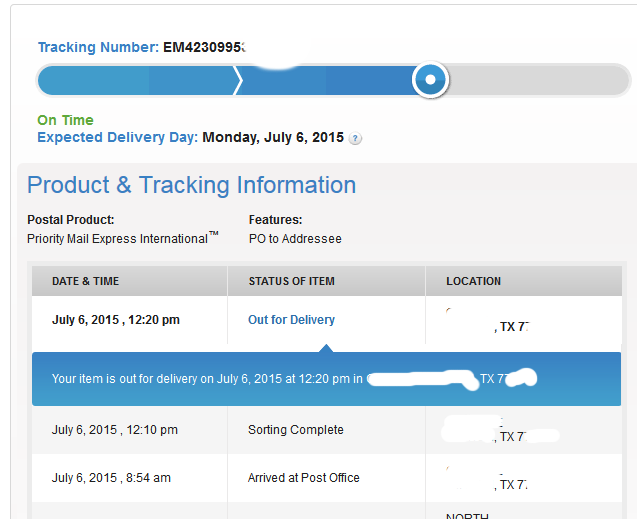 Statistics Tutor: USPS cheats the arrival time of my Priority Mail ...