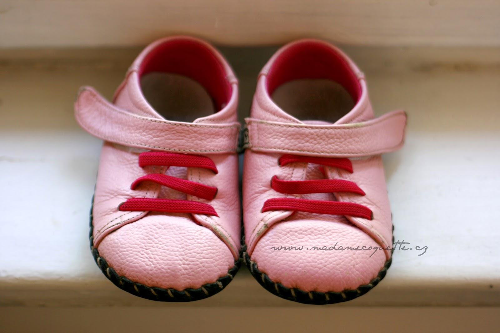 Madame Coquette  dětské boty   LBL Baby po měsíci nošení c2a549416d