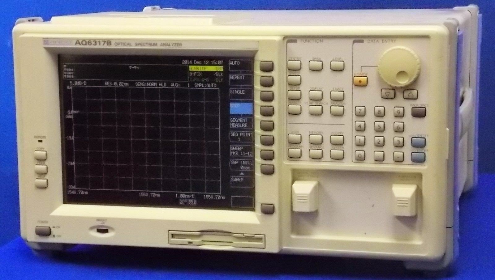 Ando Optical Spectrum Analyzer AQ6317B photo