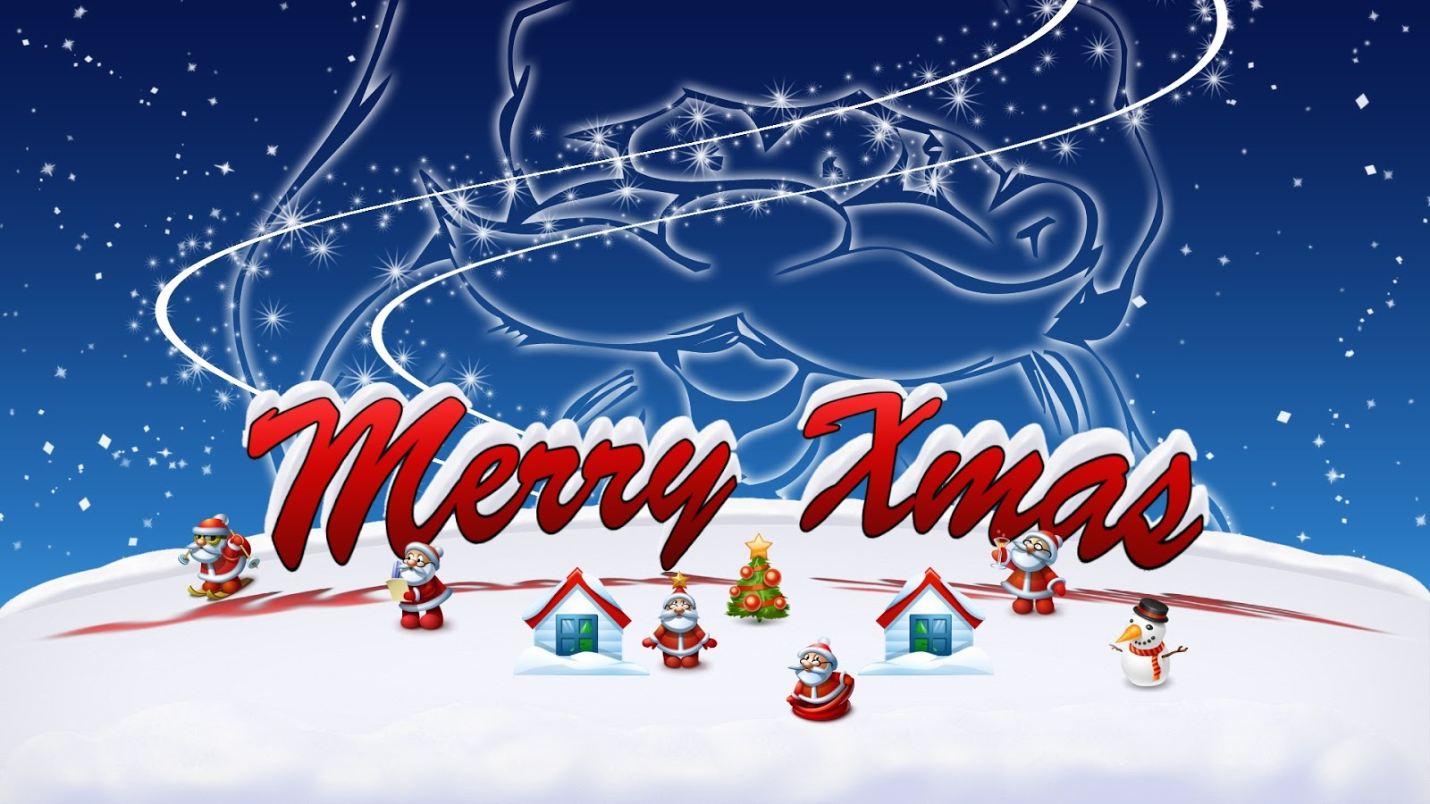 new christmas greetings hd wallpaper collection - 2013 - merry