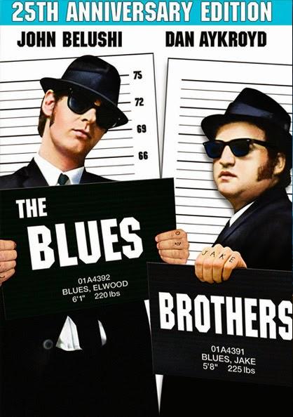 Portada película Blues Brothers John Belushi Dan Aykroyd