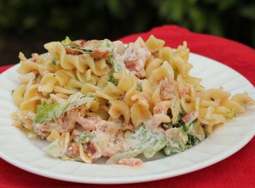 Bacon, Lettuce and Tomato Pasta Salad Recipe