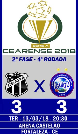 CEARÁ 3X3 IGUATU - ARENA CASTELÃO