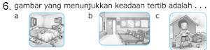 Soal Soal UAS PKn Kelas 1 SD Semester 1/Ganjil KTSP Dan Soal Ulangan Harian