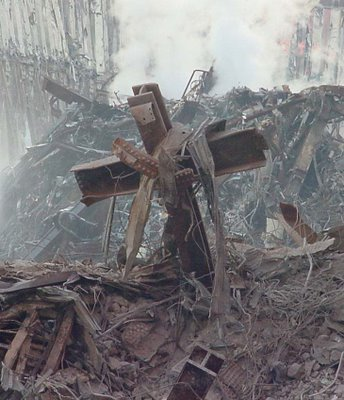 """In new york city who found what he called """"america s healing cross"""