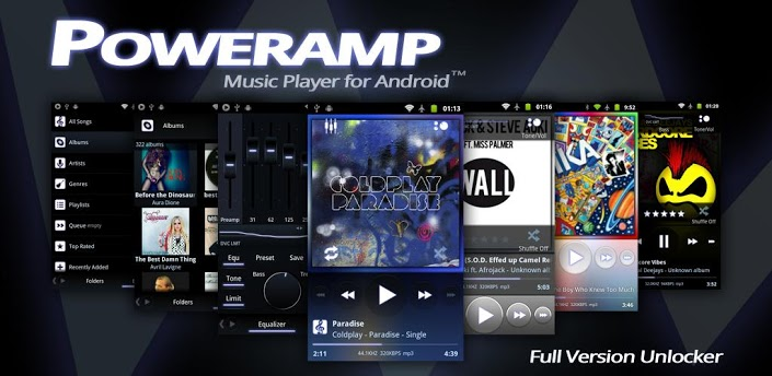... Music Player for Android. Poweramp is a powerful music player for
