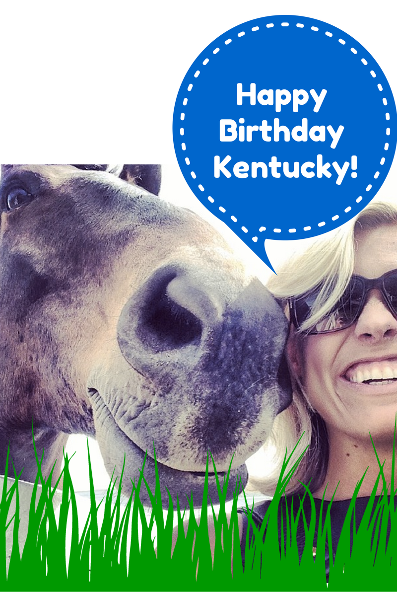 kentucky, birthday, horse, britt pennington