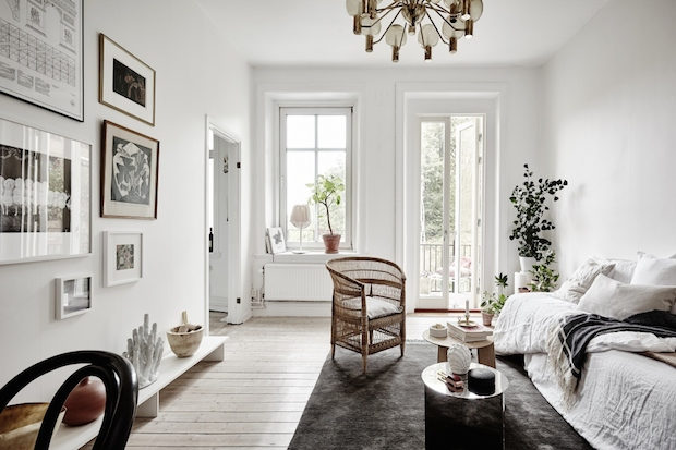 My Scandinavian Home A Serene Small Space Apartment In Sweden