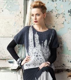 swetry w miasta z darmowym wzorem