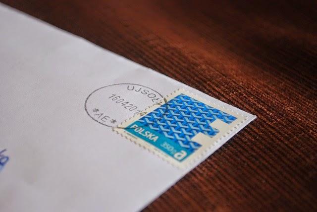 封書郵便の画像