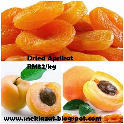 Dried Fruit in da house Kiwi dan Apricot