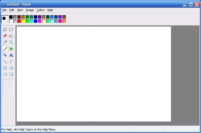 Clases de computacion programa paint - Paint para pintar ...