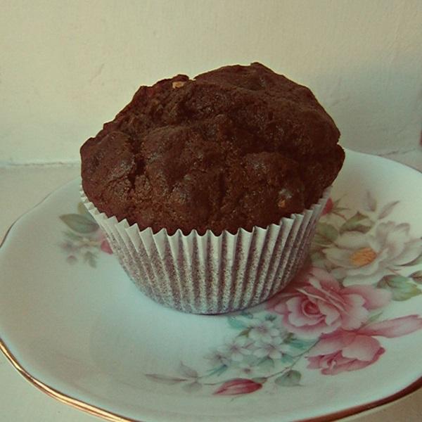 Schoko Haselnuss Muffins