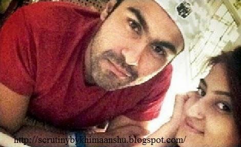 Aarya Babbar with his girlfriend Jasmine