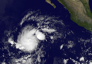 Tropischer Sturm OLIVIA im Nordost-Pazifik, Mexiko, Nordost-Pazifik, Pazifische Hurrikansaison, 2012, aktuell, Satellitenbild Satellitenbilder, Olivia, Oktober, 2012,