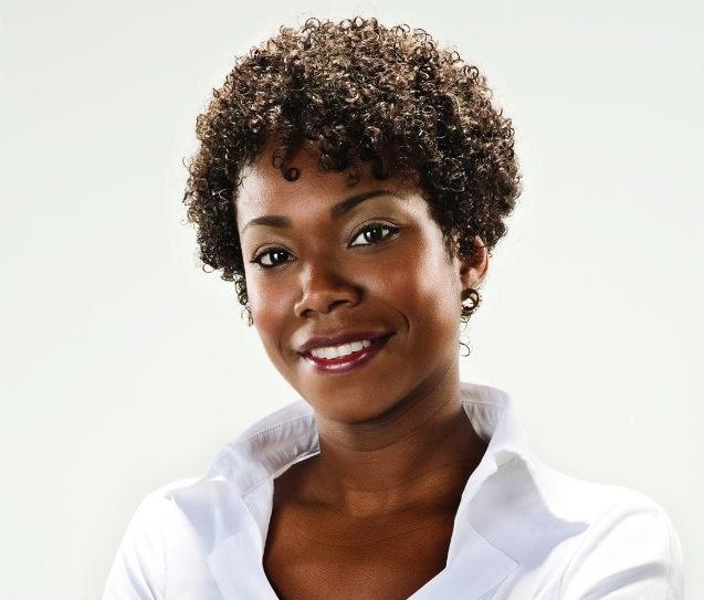 penteado afro curto