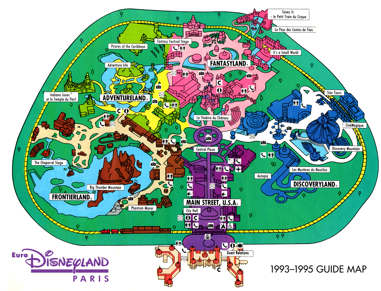 history of disneyland The walt disney company mr iger has built on disney's rich history of and one of the most ambitious development projects at disneyland paris.
