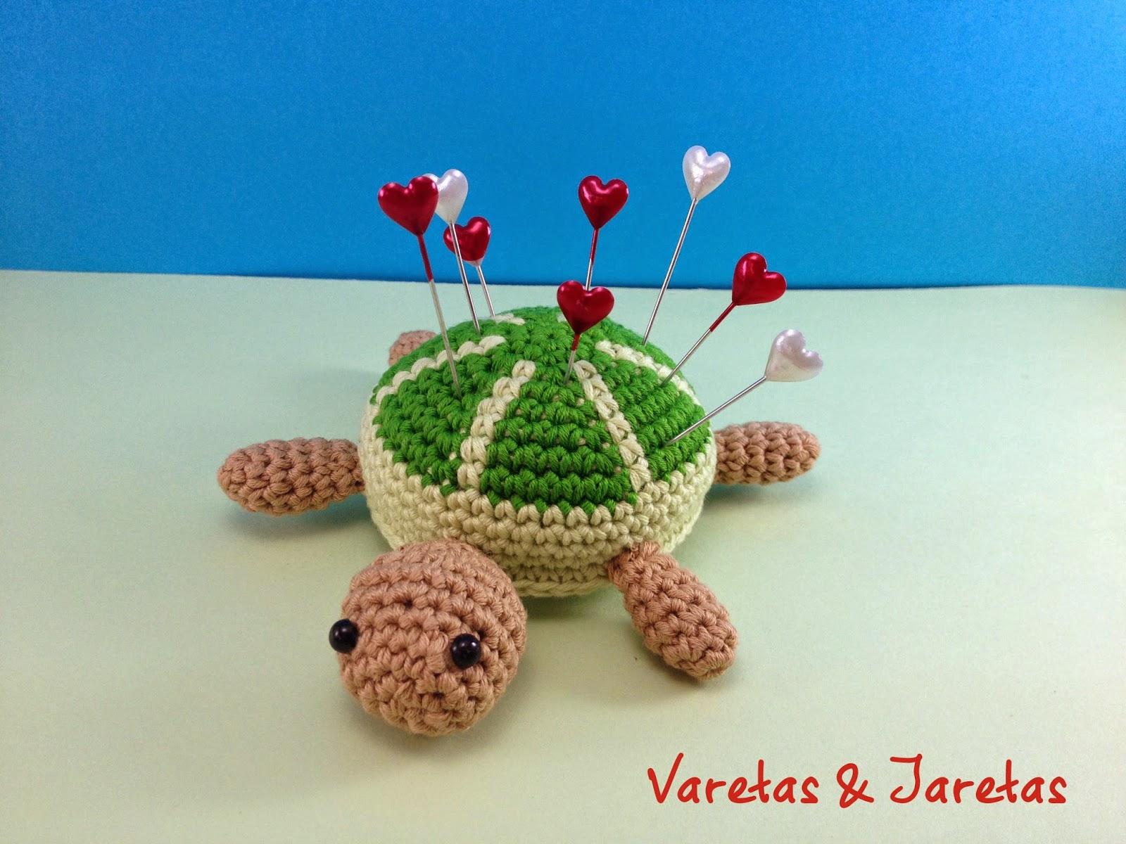 Varetas & Jaretas: Patrón gratis tortuga en crochet