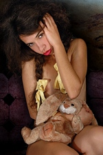 Happy Easter from Idoia & her lucky bunny at Magic-Erotica