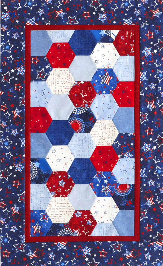 Patriotic Quilt Patterns For Free : Quilt Inspiration: Q.I. classics: Free Pattern Day ! Patriotic Quilts