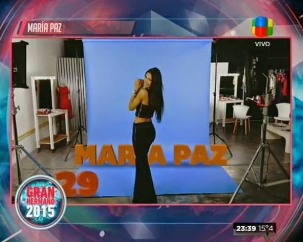 Maria Paz Gran Hermano 2015