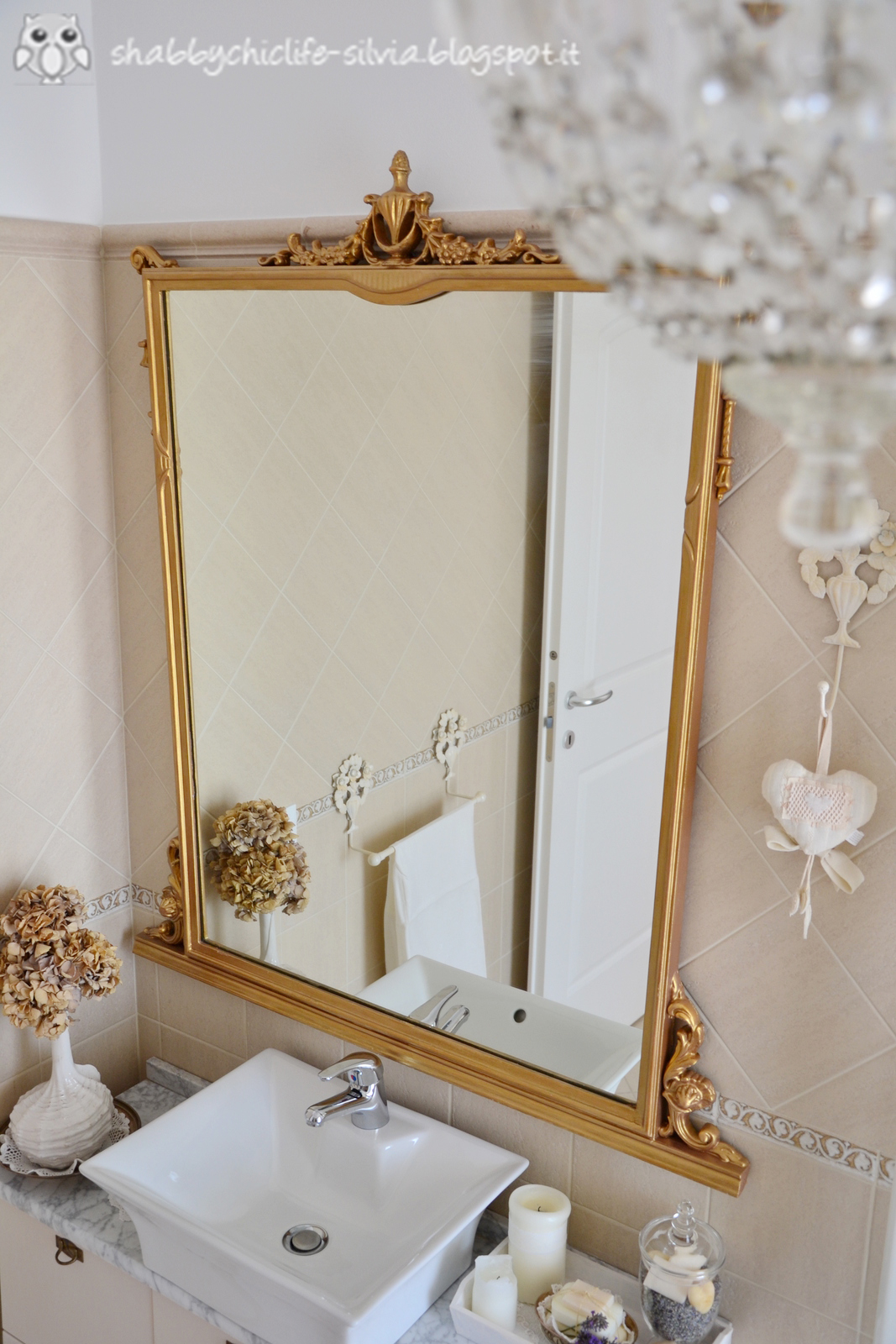 Shabbychiclife bagno restyle shabby chic ii parte - Bagno shabby chic ...