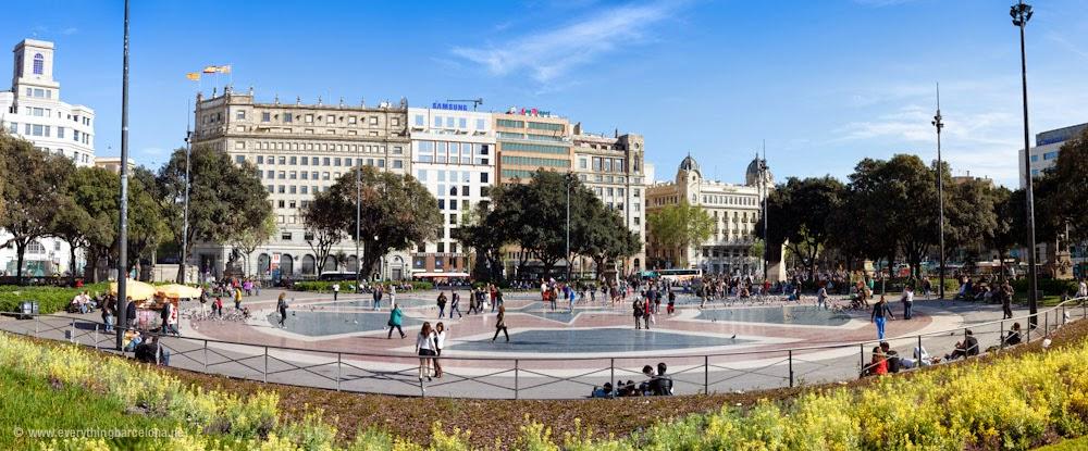 Catalunya Square  Barcelona City Travel  Barcelona Trip