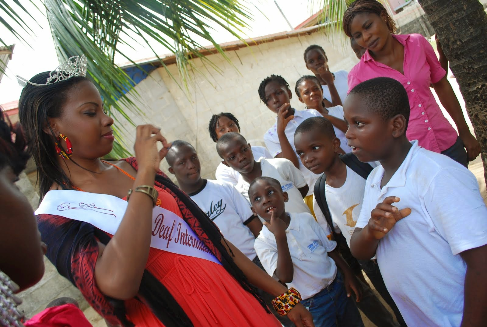 ABOUT MISS & MR DEAF NIGERIA