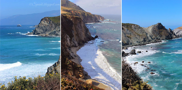 Spusht | Scenic Drive | Coastal Mountains | Boundless Oceans | California Pacific Coast State Highway 1