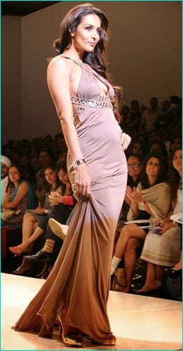 Malaika Arora Khan small boobs big cleavage nip slip visible captured pics