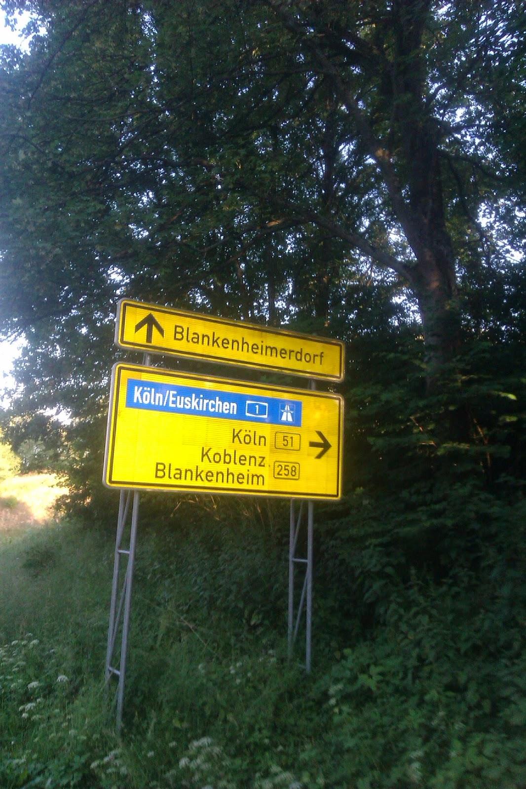 Köln Koblenz Blankenheim Euskirchen