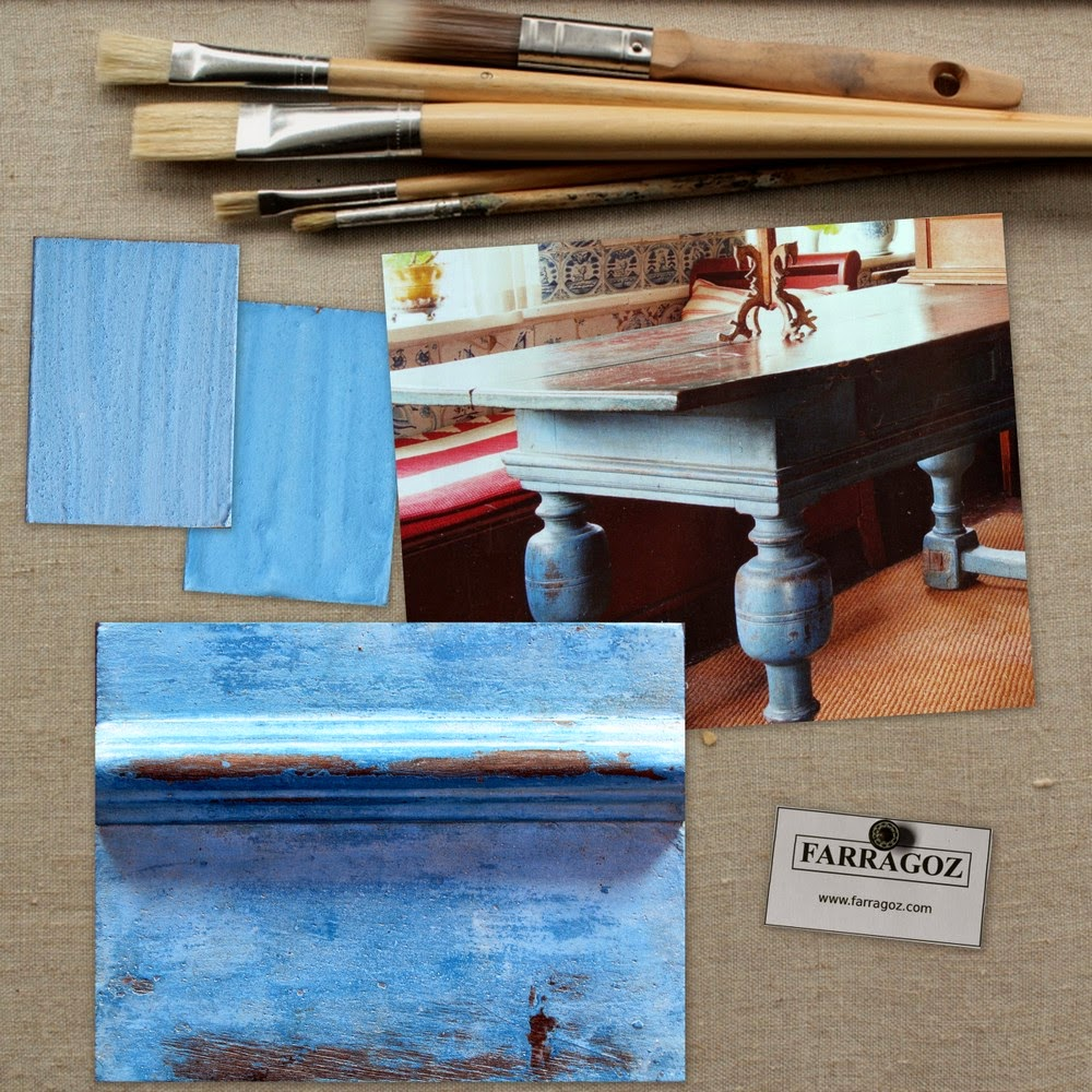 how to make wood look antique with paint