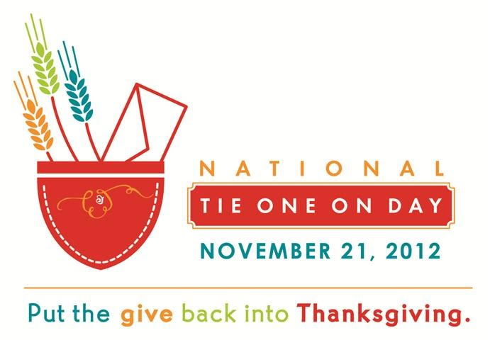 National Tie One On Day - Spread the Word. Post the Logo.