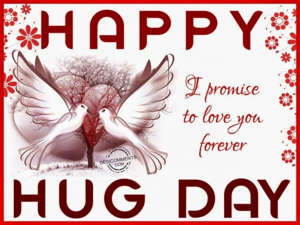 Happy hugging day quotations