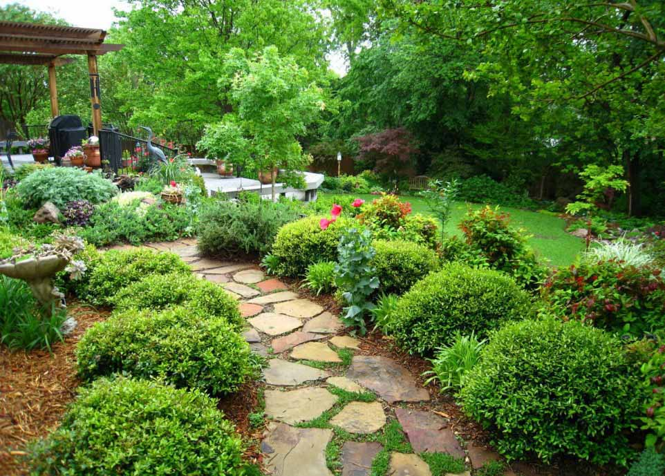 Beautiful Home And Garden Picture