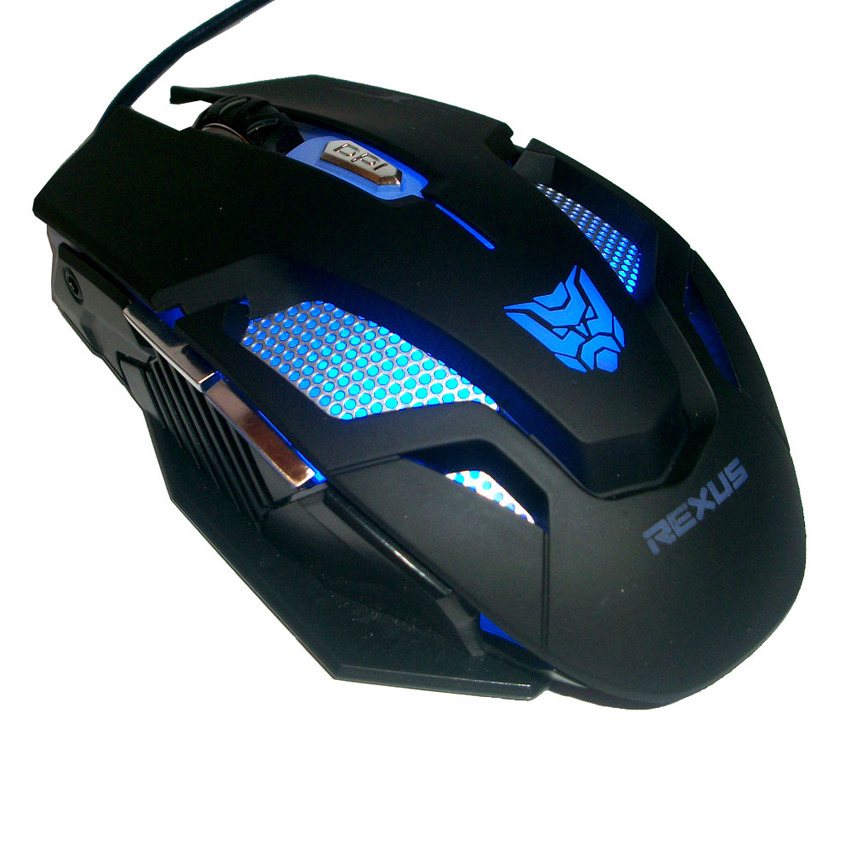 Rexus Makro RXM X7 Black Mouse Gaming