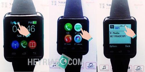 Cara Menggunakan Smartwatch U8 di HP Android