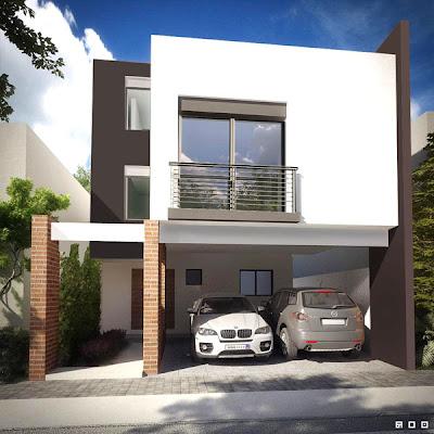 residencia contemporanea, estilo contemporaneo, casa contemporanea, foto de casa contemporanea, fachadas contemporaneas